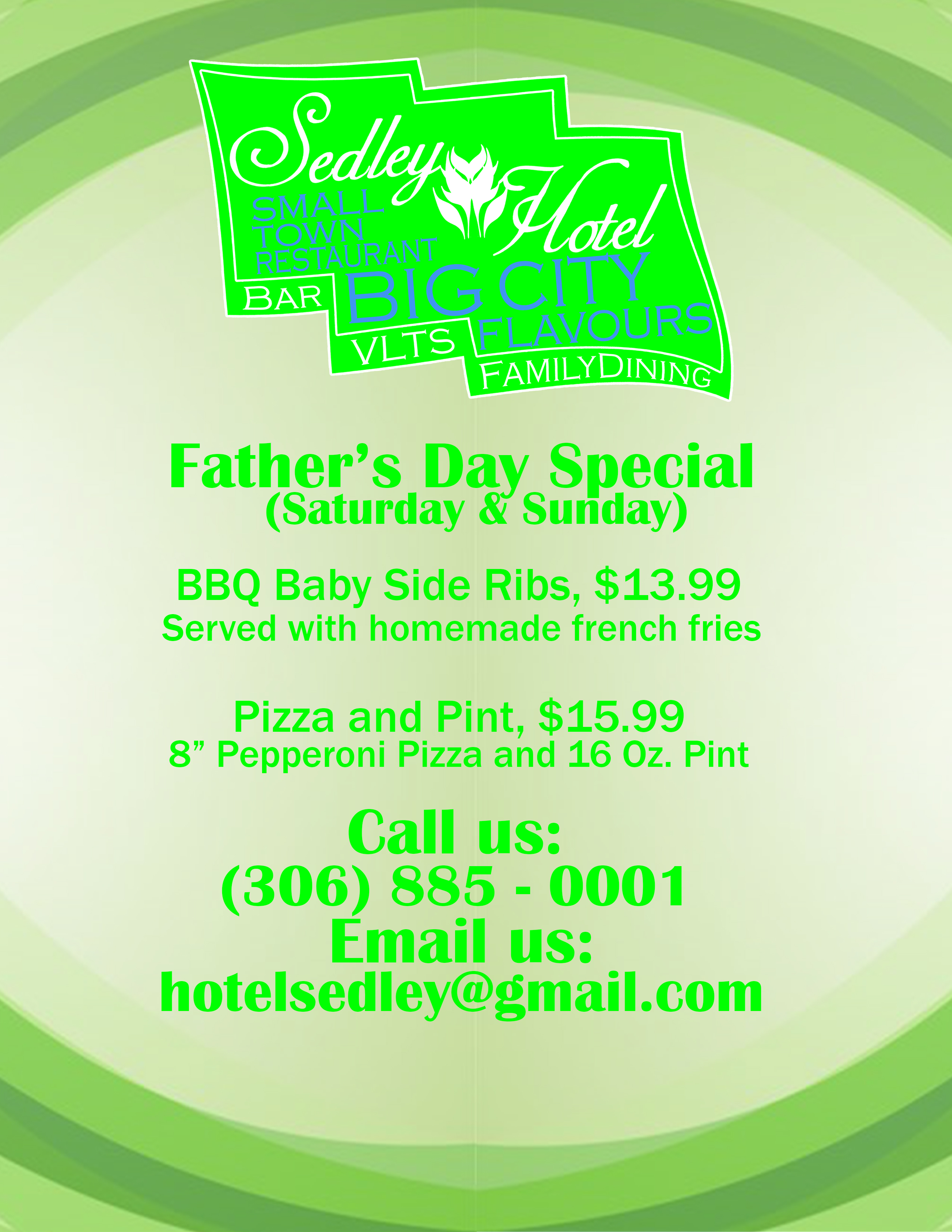 Father's Day Special Flyer 2